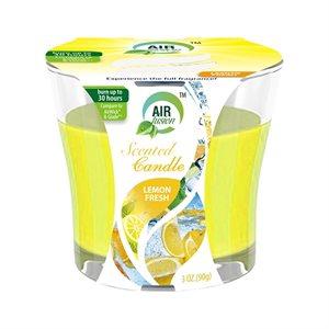 Air Fusion Candle 3oz Fresh Lemon