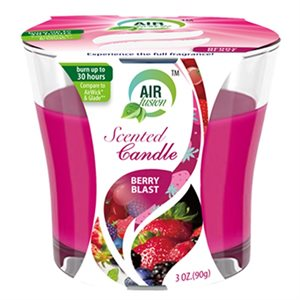 Air Fusion Candle 3oz Berry Blast