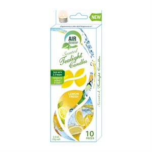 Air Fusion Tealight 10PK Fresh Lemon
