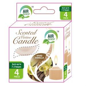 Air Fusion Votive Candle 4PK Vanilla