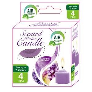 Air Fusion Votive Candle 4PK Lavender & Vanilla